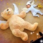 【メチャカワッ!!】赤ちゃんの夢の世界をファンタジックに再現したオリジナルアート!
