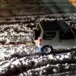 【時事通信】豪雪で立ち往生の状況を救ったスズキ軽四駆ジムニーがかっこいい!