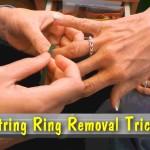 【これは知ってたほうがいい!】はずれなくなった指輪を簡単に外す方法