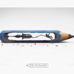 【究極アート】鉛筆の芯で描いた宇宙飛行士がスゴスギ!これぞ最高峰ヽ('∀')ノ