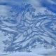【感動アート】雪の上を歩いて描くスノーアートが美しすぎて・・・絶句 (゚Д゚;)